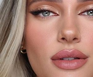 beauty, inspo, and lipstick image