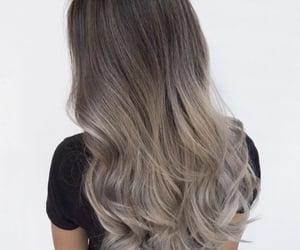 gray, hairstyle, and shades image