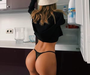 blonde, fit, and fitness image