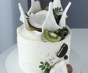 cake, sweet, and coco image