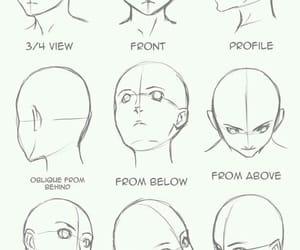 draw, head, and anime image