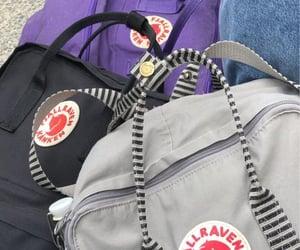 raven, rucksack, and fjallraven image