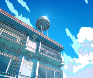 anime, anime scenery, and landscape anime image