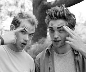 robert pattinson, kellan lutz, and twilight image