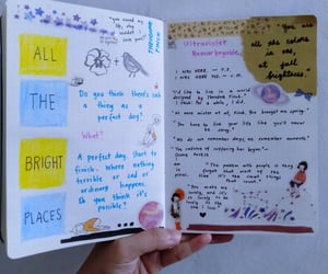 book, theodore, and all the bright places image