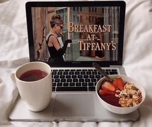 breakfast, food, and Breakfast at Tiffany's image