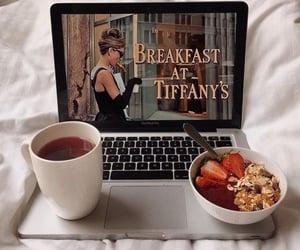 breakfast, food, and audrey hepburn image