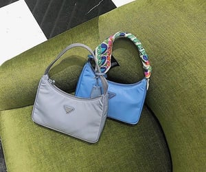 bags, blogger, and blue image