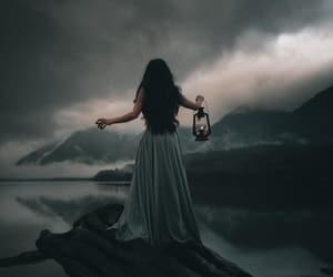 girl, dark, and fantasy image