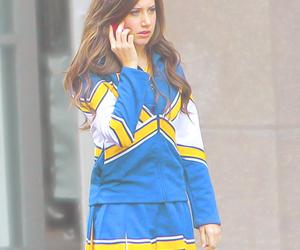 ashley tisdale, blue, and brunette image