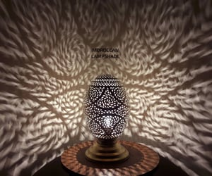 etsy, lampshades, and moroccan lamp image