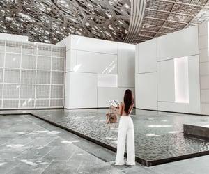 abu dhabi, art, and Dubai image