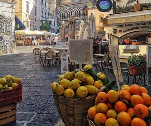 city, fruit, and italy image