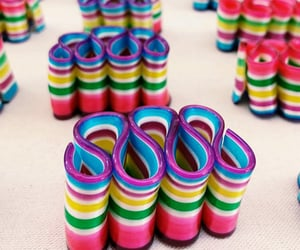 candy, stripes, and sweets image
