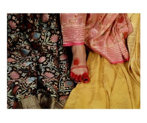 fashion, indian, and sarees image