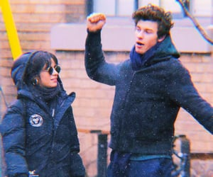 camila cabello, shawnmila, and shawn mendes image