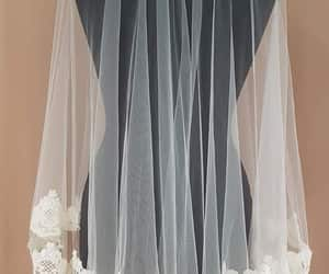 bridal veil, soft tulle veil, and tulleveil image