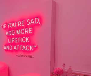 aesthetic, chanel, and pink image
