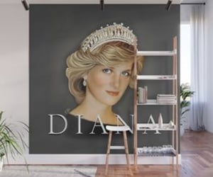 art prints, fashion, and princess diana image