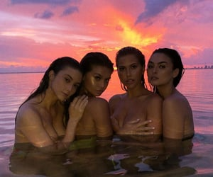 Beautiful Girls, friends, and mermaid image