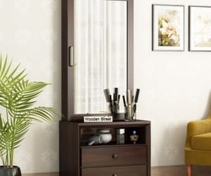 dressing table and wooden dressing able image