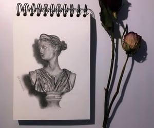 art, artemis, and artist image
