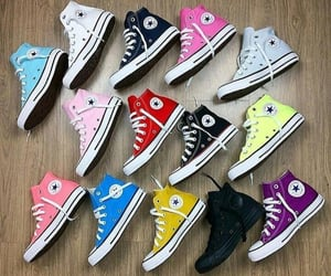 converse all star, fashion, and sneakers image