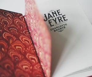 book, charlotte bronte, and jane eyre image