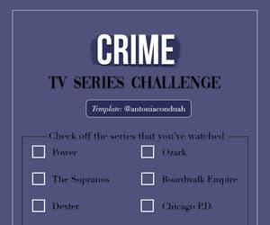 checklist, crime, and criminal minds image