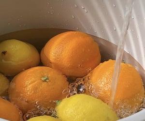 orange, food, and lemon image