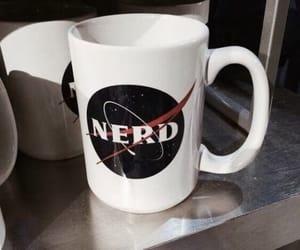 mug, nasa, and nerd image
