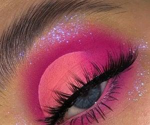 bling, eye, and eyebrow image