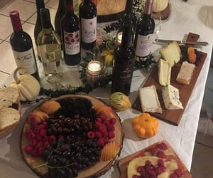 cheese and wine image