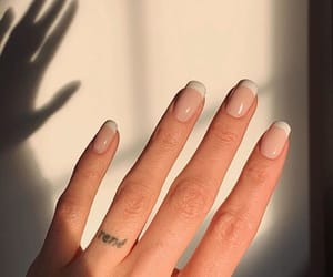 nails, beauty, and french image