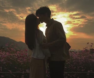 couple, lovers, and ulzzang image