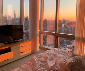 sunset, aesthetic, and interior image
