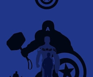 Avengers, cap, and captain america image