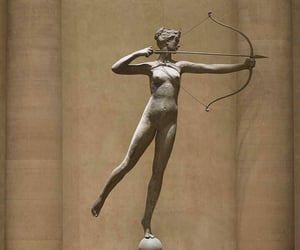 art, mythology, and artemis image