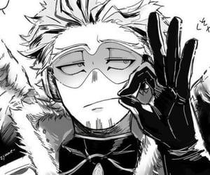 anime, hawks, and manga image