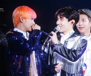 jin, jhope, and taehyung image
