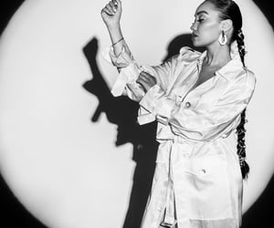 little mix, black and white, and leigh anne pinnock image