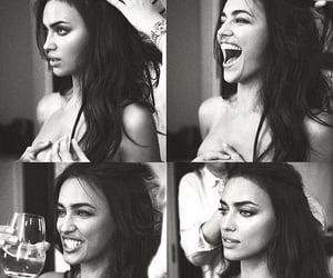 irina shayk, model, and smile image