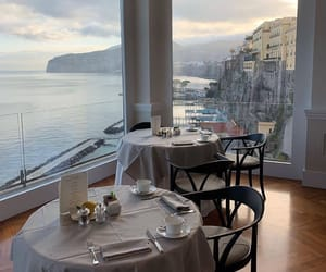 restaurant, view, and travel image