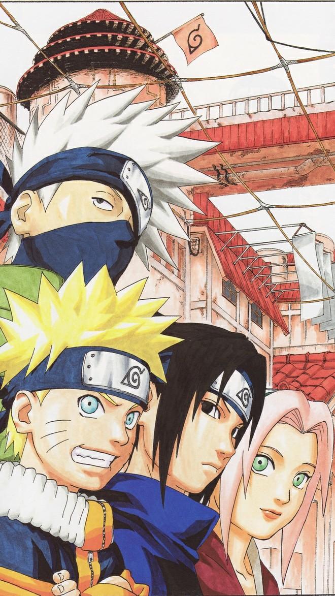 anime, naruto, and team 7 image