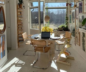 books, decor, and decoration image