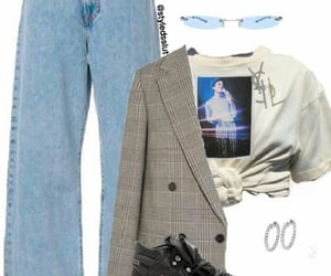 fashion, michael jackson, and style image