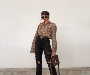 beret, blogger, and boots image