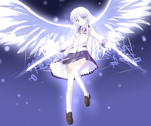 tenshi and angel beats image