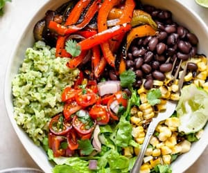 vegan, vegetarian, and vegan bowl image