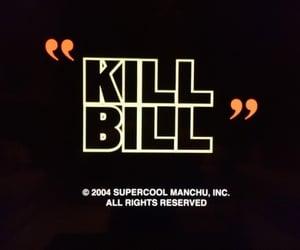 art, cinema, and kill bill image